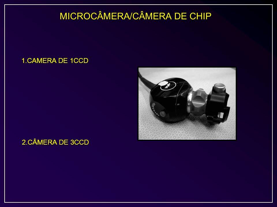 MICROCÂMERA/CÂMERA DE CHIP 1.CAMERA DE 1CCD 2.CÂMERA DE 3CCD