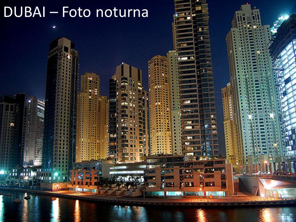 DUBAI – Foto noturna