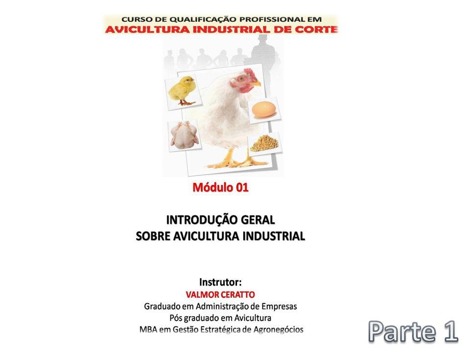 MÓDULO 01 - INTRODUÇÃO GERAL SOBRE AVICULTURA INDUSTRIAL 01