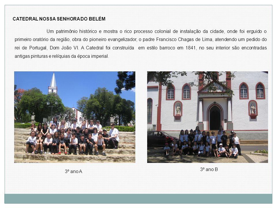 CATEDRAL NOSSA SENHORA DO BELÉM Um patrimônio histórico e mostra o rico processo colonial de instalação da cidade, onde foi erguido o primeiro oratóri