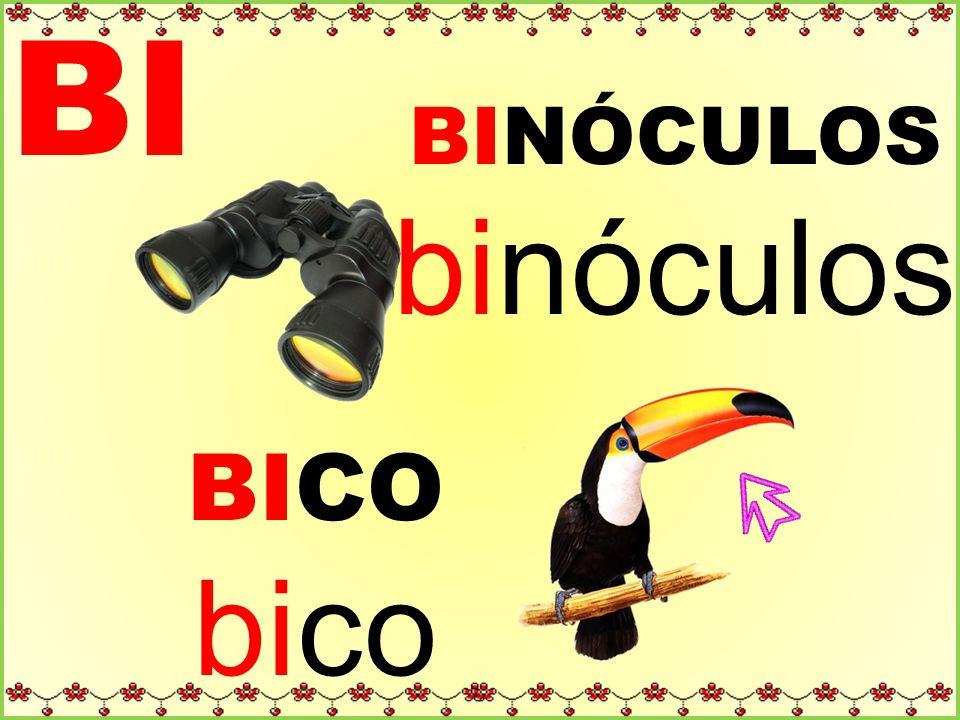 BI BINÓCULOS binóculos BICO bico