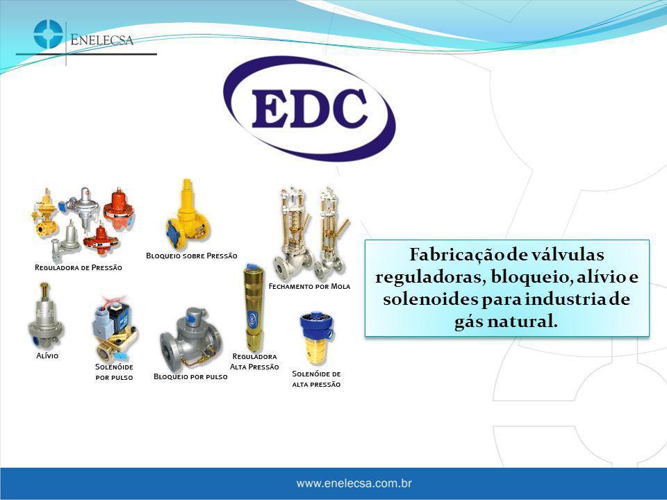 Projeto e construção de City- Gates para distribuidoras de gás natural e transportadoras como Petrobras e TBG.