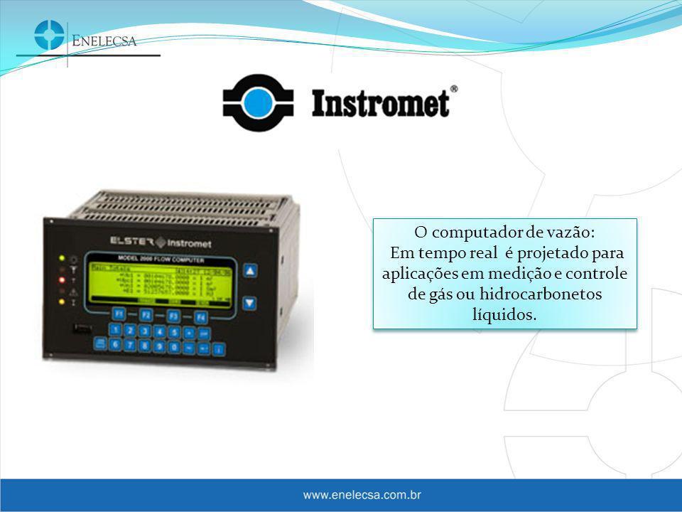 Cromatógrafos de Linha: Especialmente projetado para medição de energia fiscal de gás natural.