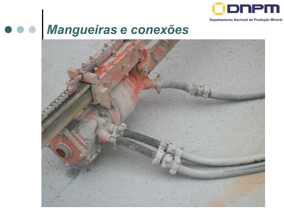 Mangueiras e conexões