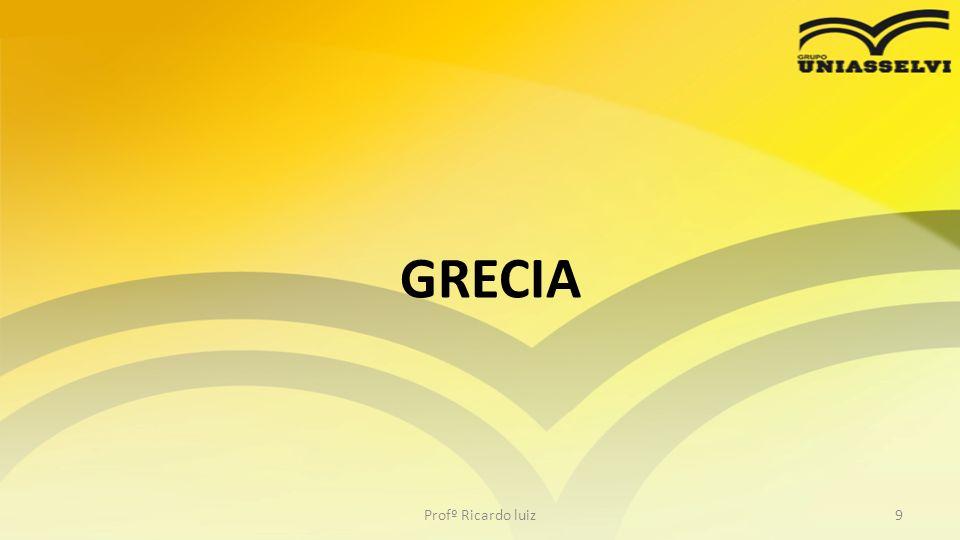 TEORIAS DA ADMINISTRAÇÃO Profº Ricardo luiz10 No século V a.C., começou na Grécia um fértil período de produção de idéias que viriam a influenciar profundamente a prática da administração.
