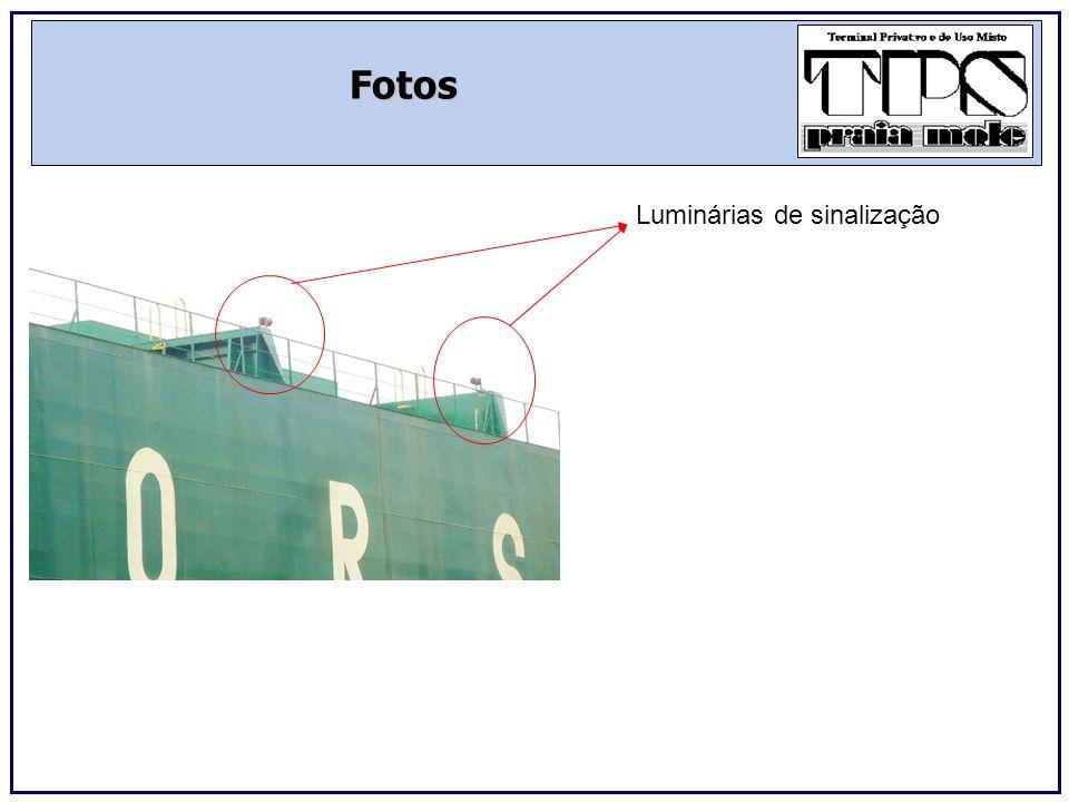 Fotos Sensores internos de Presença da ponte Vista interna do local de abertura