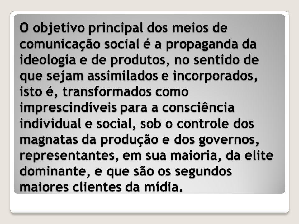 S ERÁ QUE OS EFEITOS DA COMUNICAÇÃO SÃO IGUAIS PARA RICOS E POBRES ?
