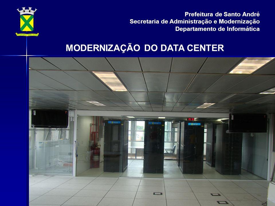 MODERNIZAÇÃO DO DATA CENTER Prefeitura de Santo André Secretaria de Administração e Modernização Departamento de Informática