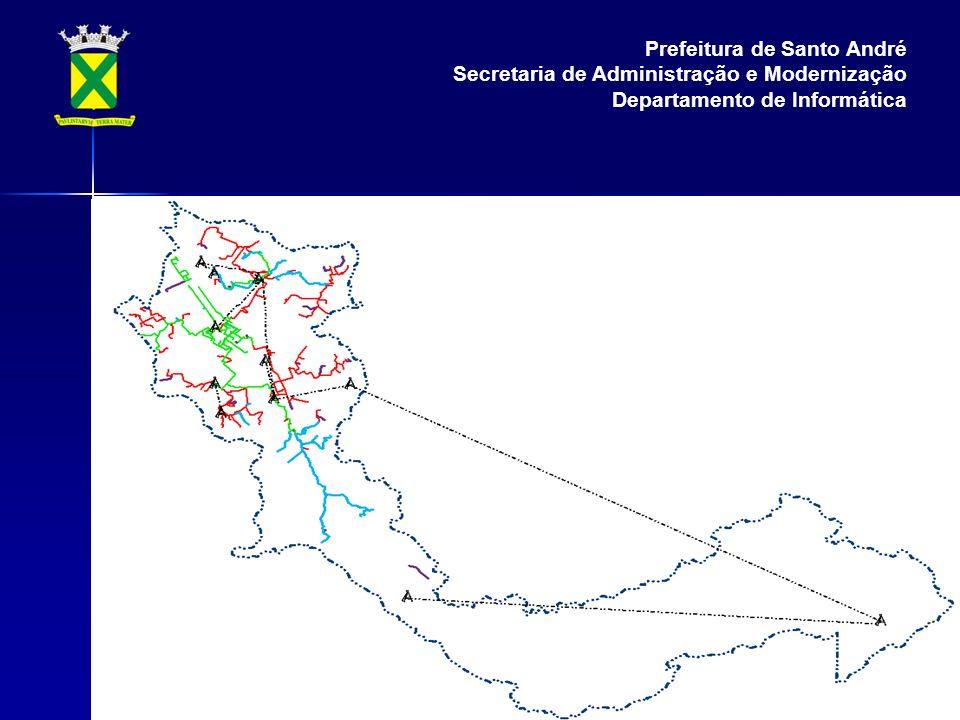 Prefeitura de Santo André Secretaria de Administração e Modernização Departamento de Informática