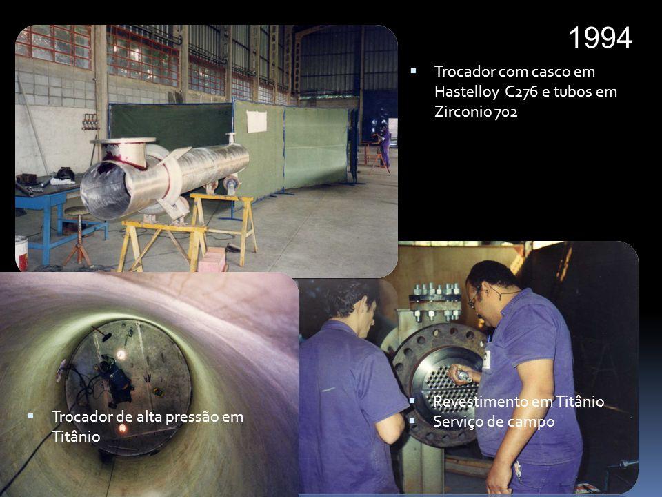 1995 Equipamento em Monel 400 Internos de torre de secagem de Uranio