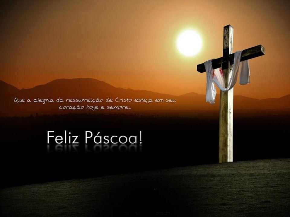 A PÁSCOA não é apenas a comemoração de um FATO PASSADO... não deve ser apenas UM DIA DO ANO... mas um processo permanente dentro de nós. O cristão cel