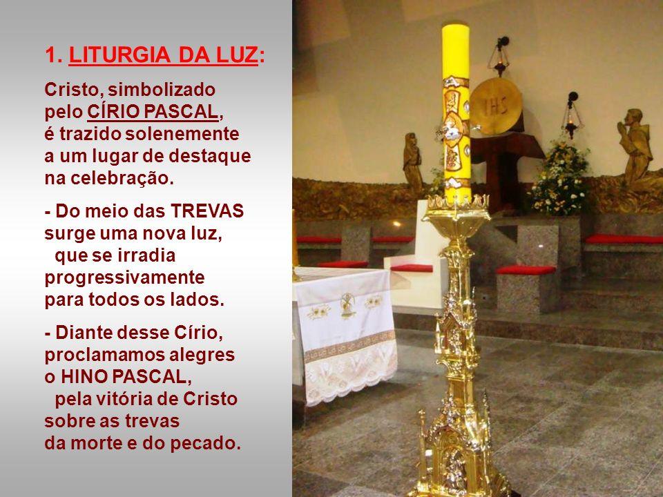 A Liturgia dessa noite celebra o fato mais importante da História da Salvação, o Mistério mais profundo de nossa fé: a Ressurreição do Senhor. É a Lit