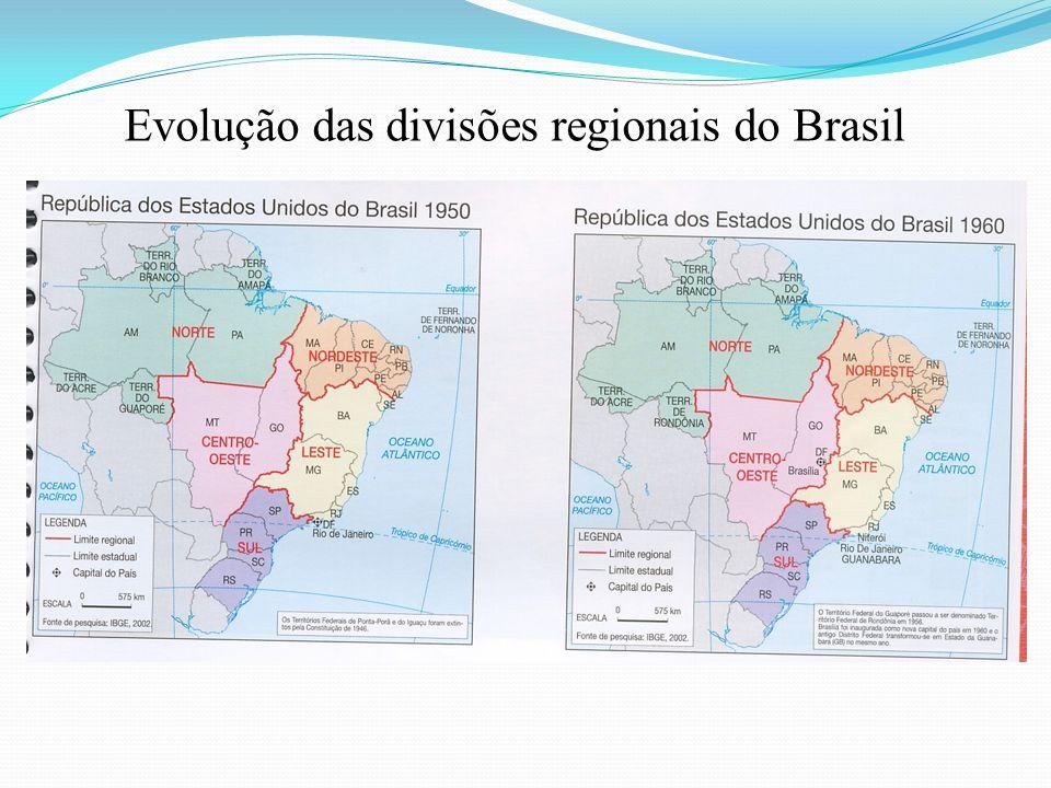 Planejamento Regional Desigualdades regionais Começaram a ser estudadas e discutidas principalmente a partir da década de 1950.