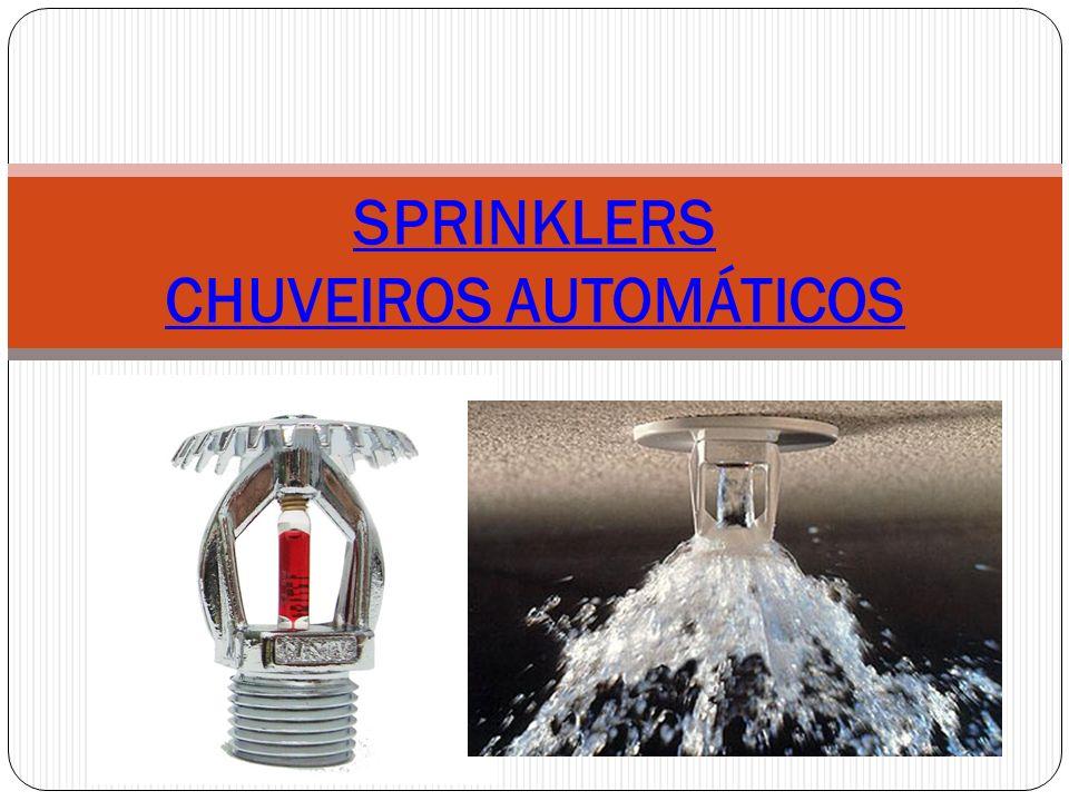 SPRINKLERS CHUVEIROS AUTOMÁTICOS