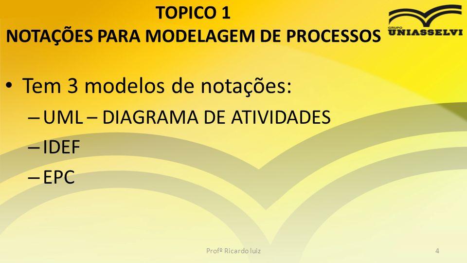 BPMN É uma notação gráfica que descreve a lógica dos passos de um processo de negócio.
