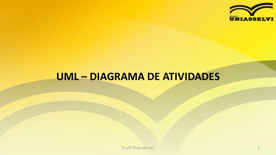 UML – DIAGRAMA DE ATIVIDADES Profº Ricardo luiz5