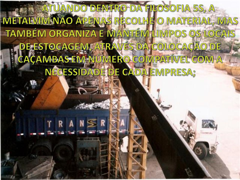 TAMBORAMENTO DE SUCATA 1008 SEMPRE LIMPOS E SELECIONADOS;