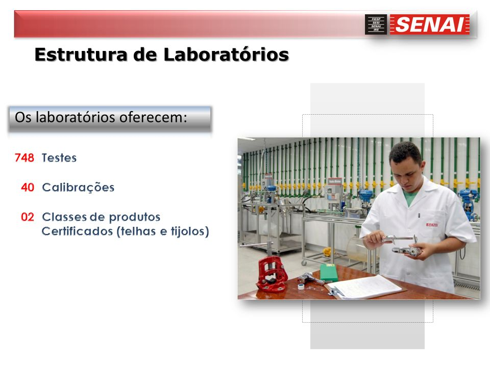 Estrutura de Laboratórios