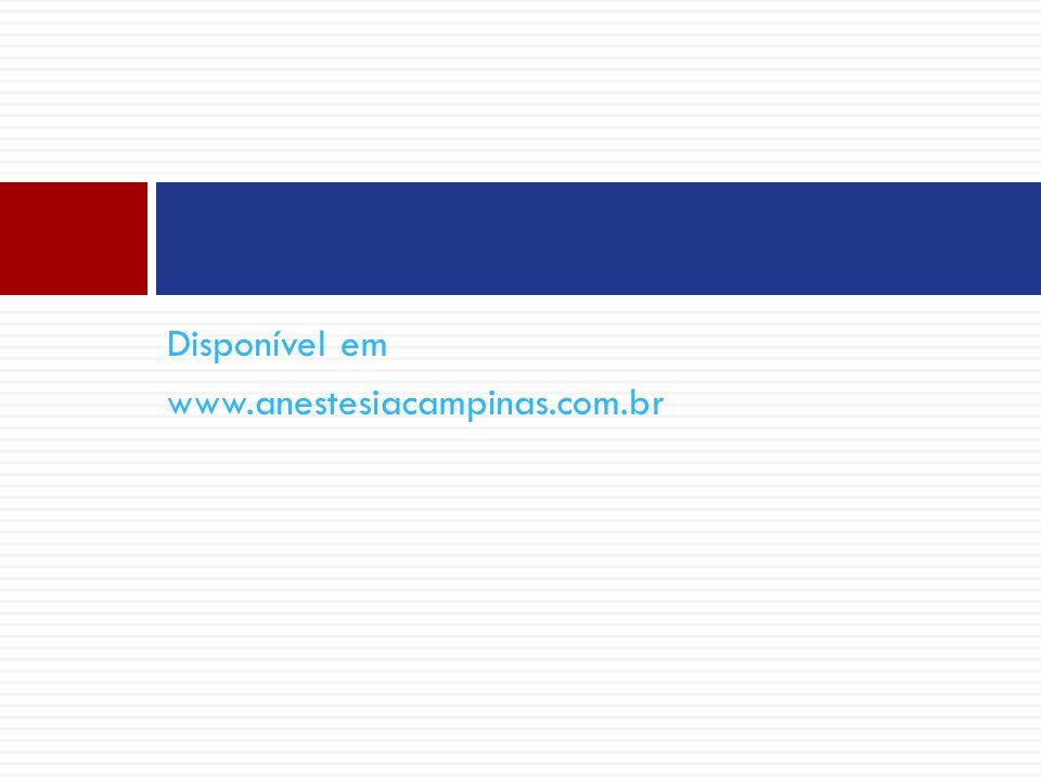Disponível em www.anestesiacampinas.com.br
