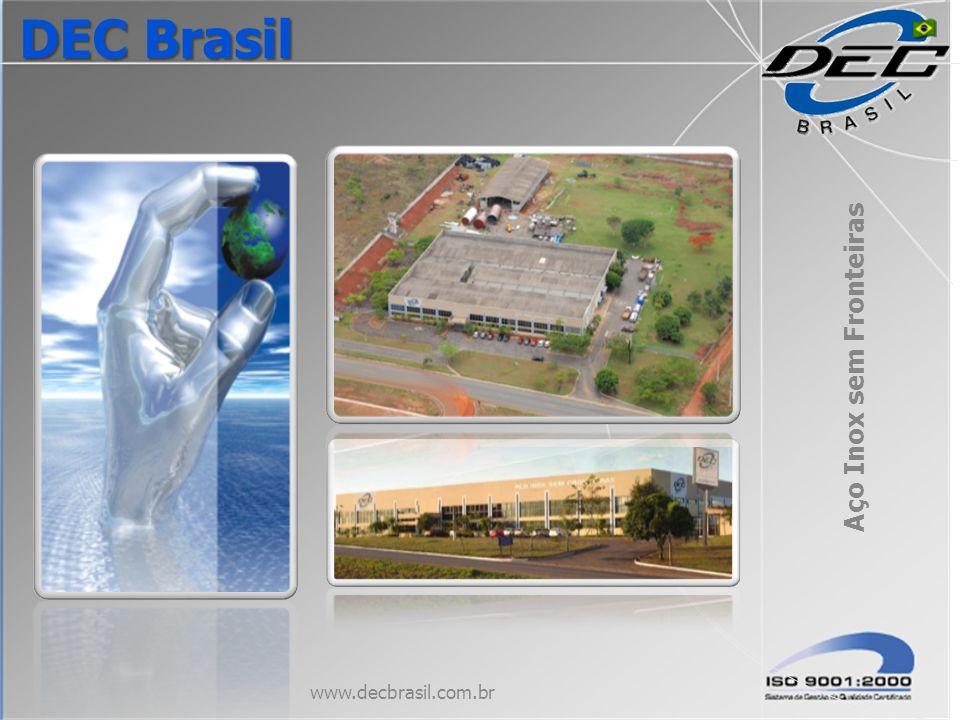 Aço Inox sem Fronteiras www.decbrasil.com.br DEC Brasil