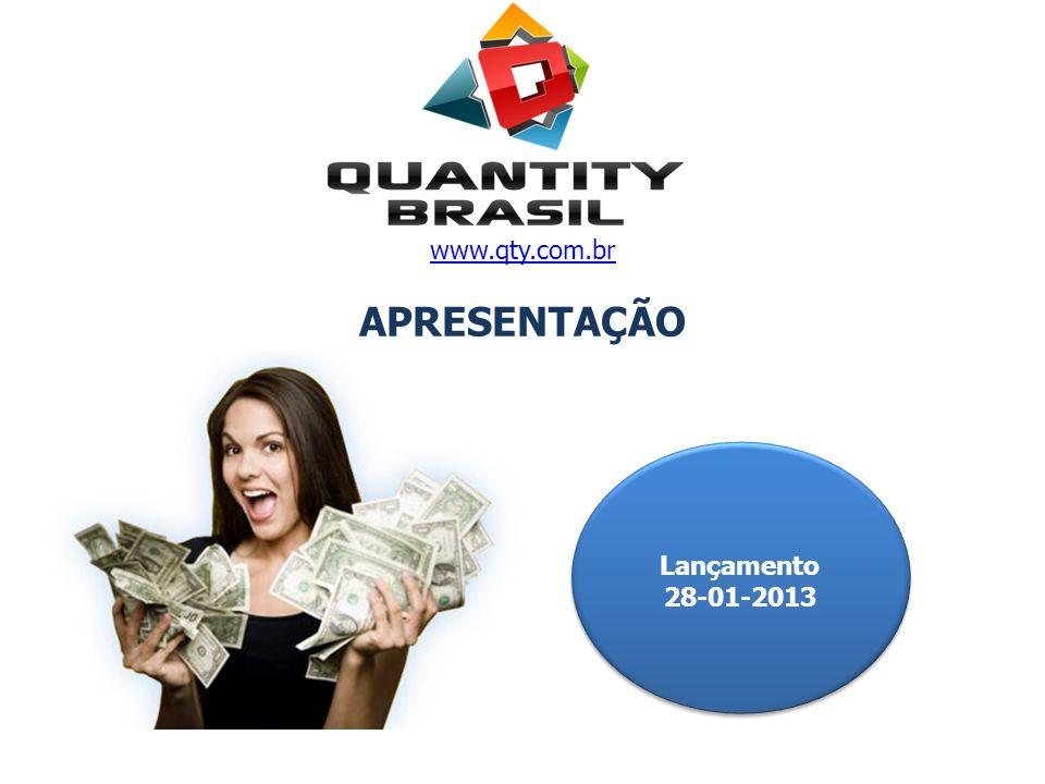 Lançamento 28-01-2013 Lançamento 28-01-2013 www.qty.com.br APRESENTAÇÃO