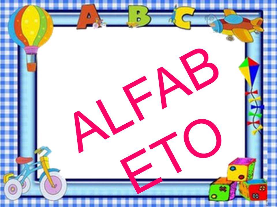 B Complete o alfabeto. F J N R