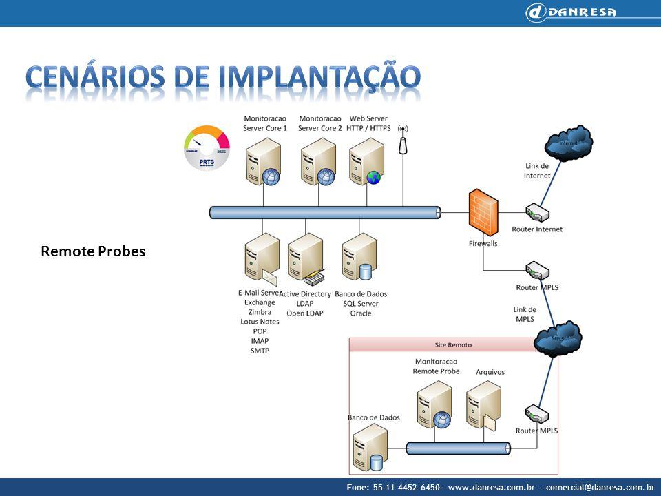 Fone: 55 11 4452-6450 - www.danresa.com.br - comercial@danresa.com.br Remote Probes