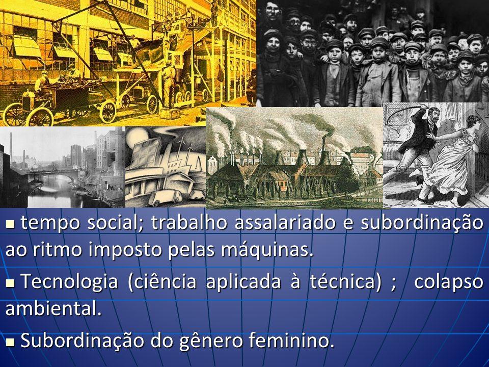 MEIO TÉCNICO (ou MECANIZADO) espaço mecanizado do Neolítico à Revolução Industrial com transformação extensa e profunda da superfície terrestre.
