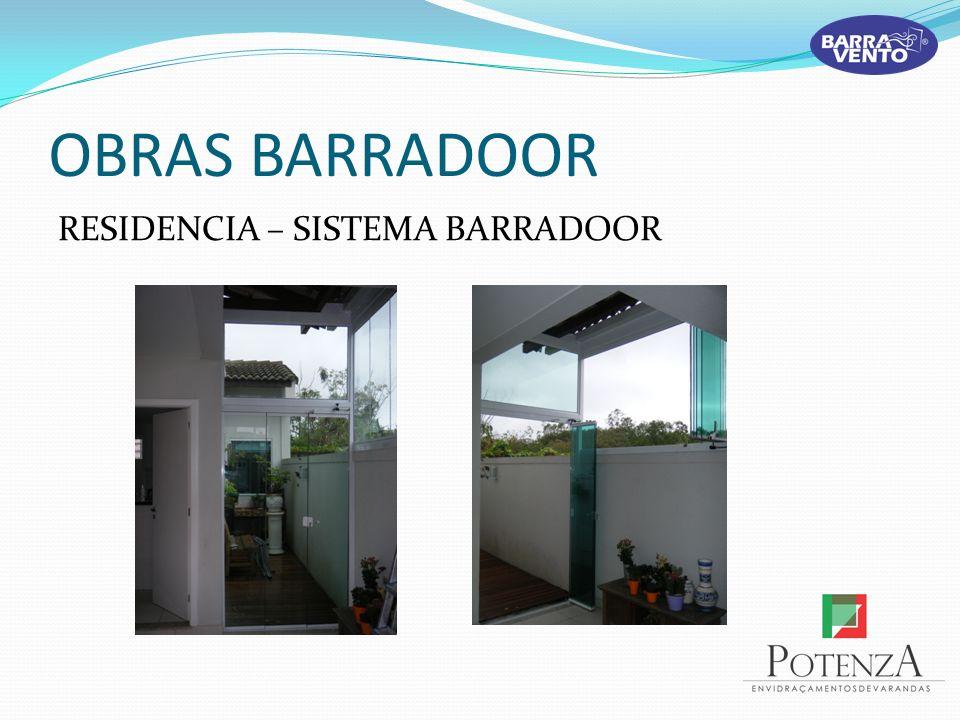 OBRAS BARRADOOR RESIDENCIA – SISTEMA BARRADOOR