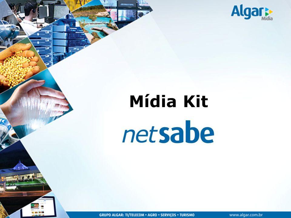 Quem somos O Netsabe é um produto da Algar Mídia, uma empresa com mais de 40 anos de atuação que oferece soluções transmídia que aumentam a visibilidade da sua marca, disponibilizando eficientes veículos de mídia, em diversas plataformas.