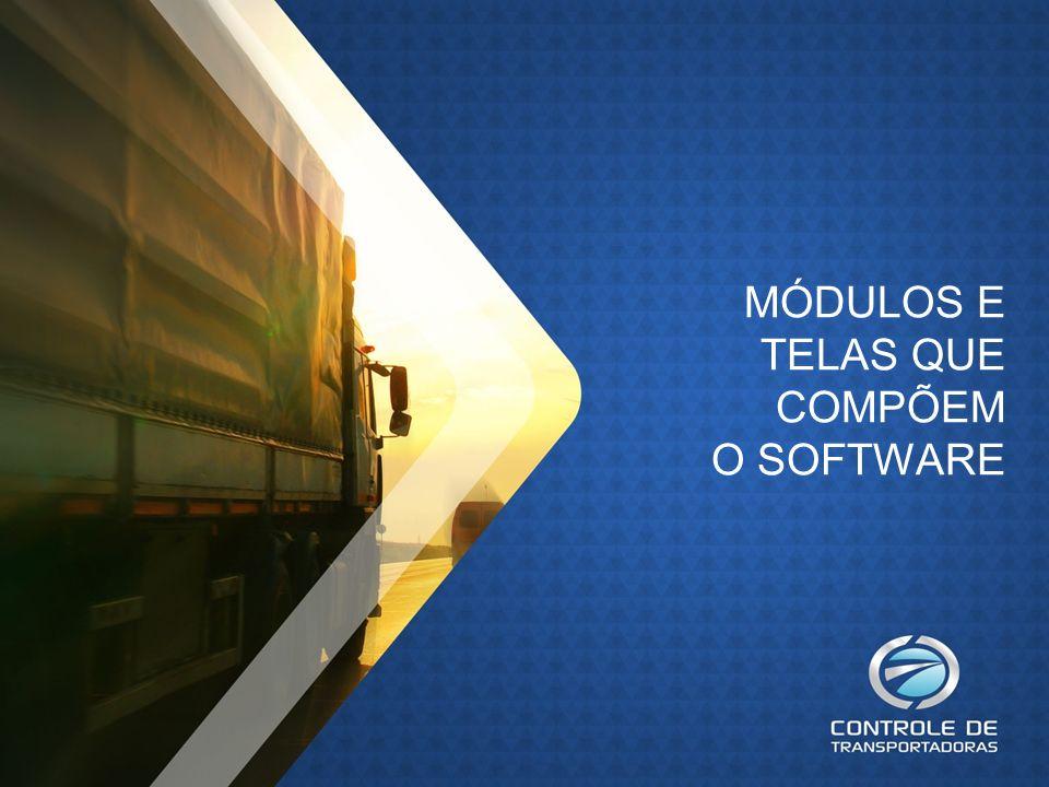 Na tela principal existem menus, botões de atalho e painéis com demonstrativos de lançamentos, que facilitam a utilização do software.
