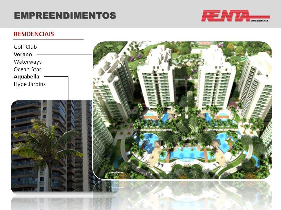 EMPREENDIMENTOS Rio Office Tower (Pré-certificação Leed Silver) Barra Private (RJ) Comercial Suburbana (RJ) Copacabana Medical Tower (RJ) Comercial José Elias (SP) Barra Trade (RJ) Office Park (RJ) Emp.