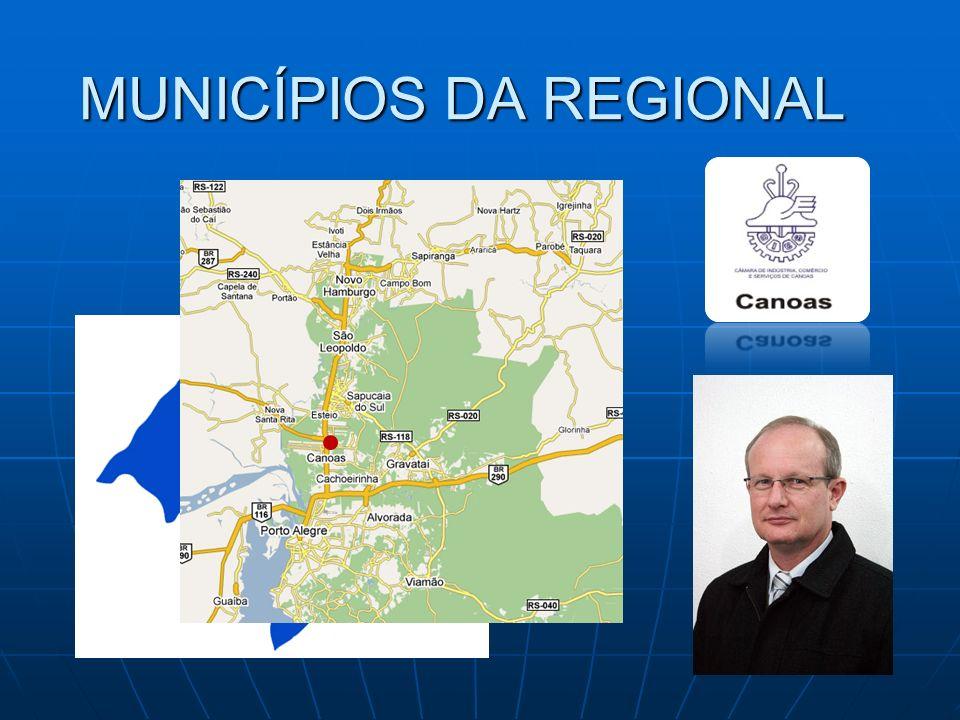 MUNICÍPIOS DA REGIONAL