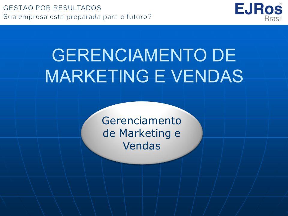 GERENCIAMENTO DE MARKETING E VENDAS Gerenciamento de Marketing e Vendas