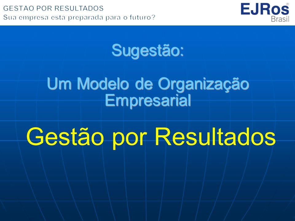 Sugestão: Um Modelo de Organização Empresarial Gestão por Resultados