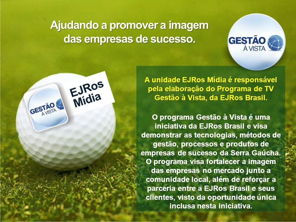 Ajudando a promover a imagem das empresas de sucesso.