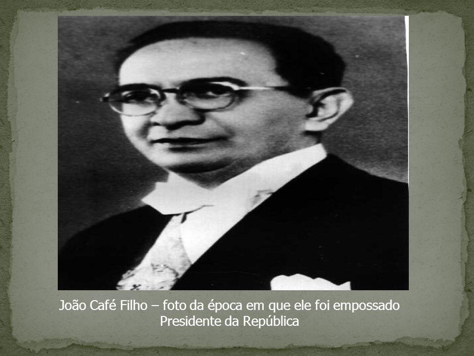 João Café Filho – foto da época em que ele foi empossado Presidente da República