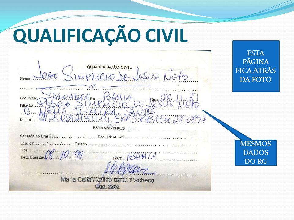 CONTRATO DE TRABALHO DADOS DO EMPREGADOR CARGO ADMISSÃO REMUNERAÇÃO CARIMBO E ASSINATURA DO EMPREGADOR DATA DA DEMISSÃO OS DADOS DO EMPREGADOR PODEM SER SUBSTITUÍDOS POR CARIMBO SE O REGISTRO TIVER MENOS QUE 6 MESES, XEROCAR O REGISTRO ANTERIOR SE O SALÁRIO FOR DIFERENTRE DO REGISTRO, OLHAR AS ATUALIZAÇÕES DE SALÁRIO (NORMALMENTE AS SEGURADORAS NÃO PEDEM ).