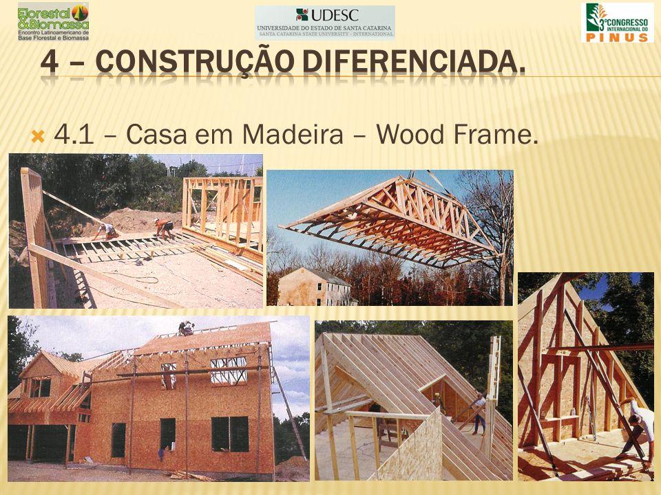 4.1 – Casa em Madeira – Wood Frame. 22