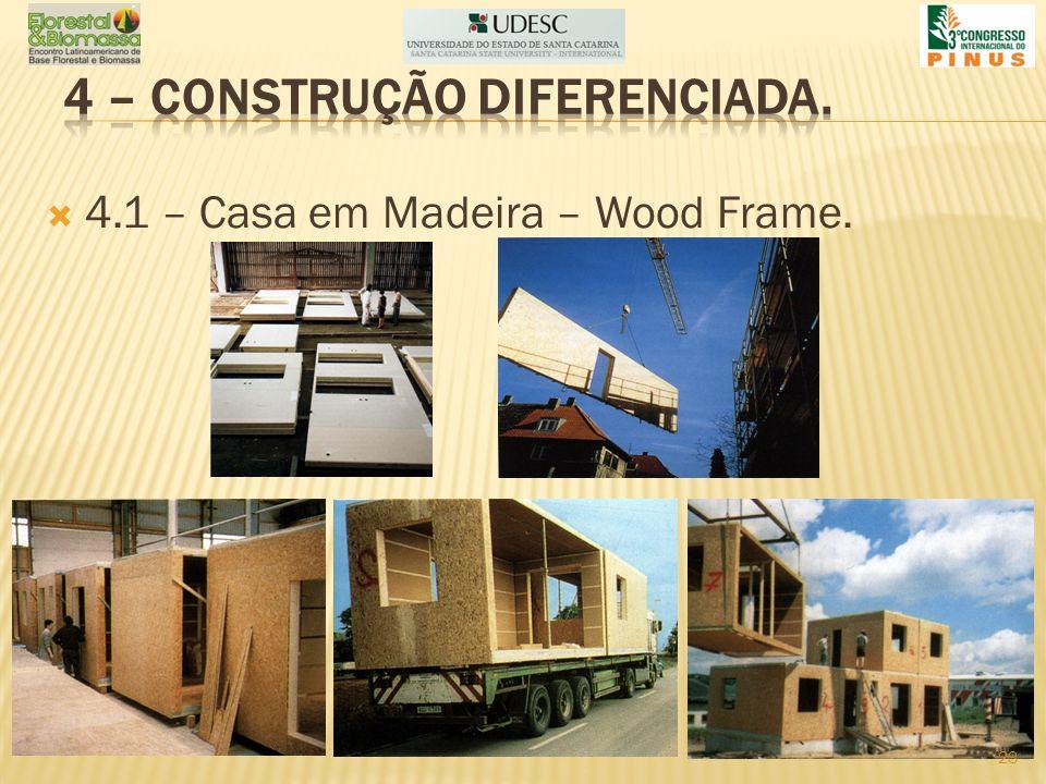 4.1 – Casa em Madeira – Wood Frame. 23