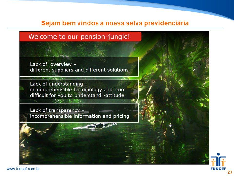 23 Sejam bem vindos a nossa selva previdenciária