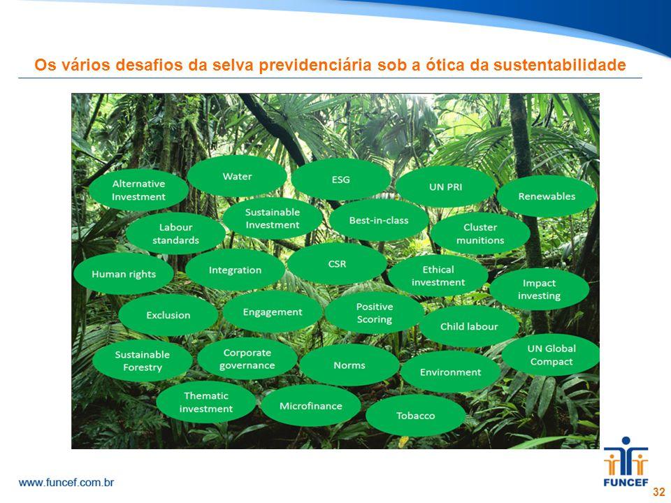 32 Os vários desafios da selva previdenciária sob a ótica da sustentabilidade