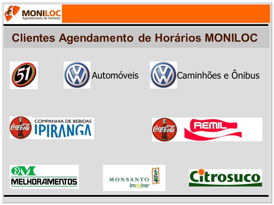 Clientes Agendamento de Horários MONILOC Automóveis Caminhões e Ônibus