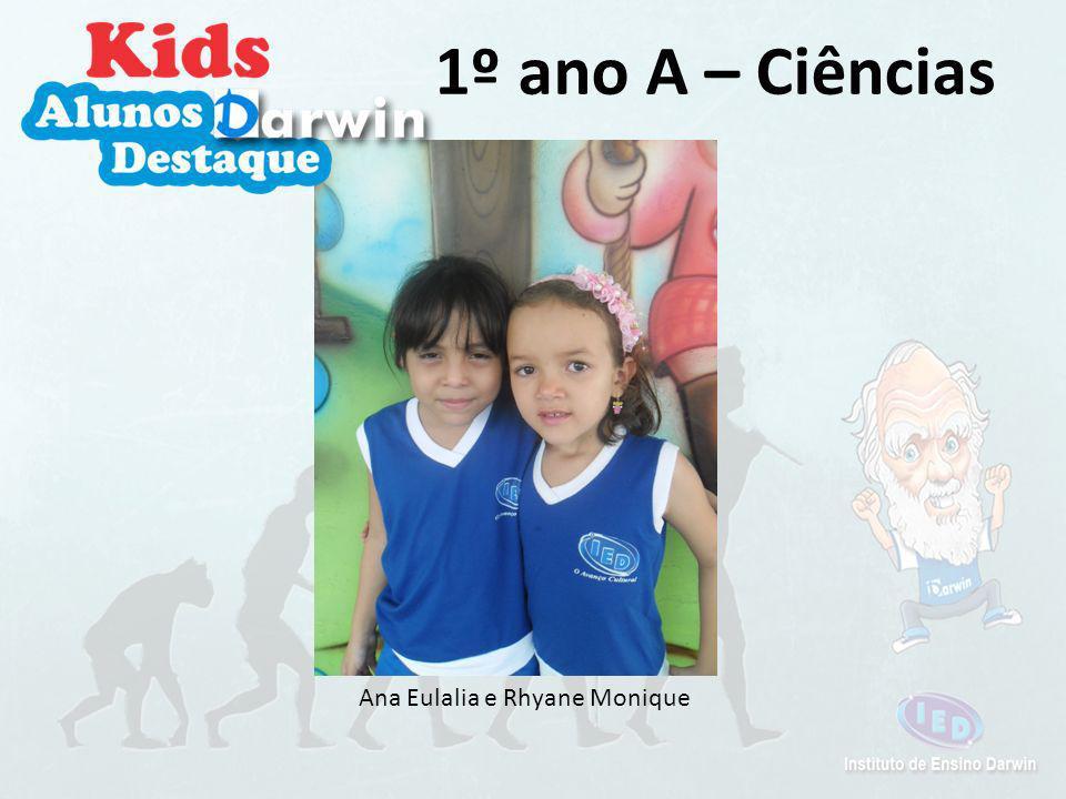 Ana Eulália, Ana Paula, Mariana e Vitória 1º ano A - Espanhol