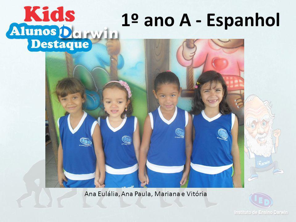 Gabriela e Iara 2º ano A - Inglês