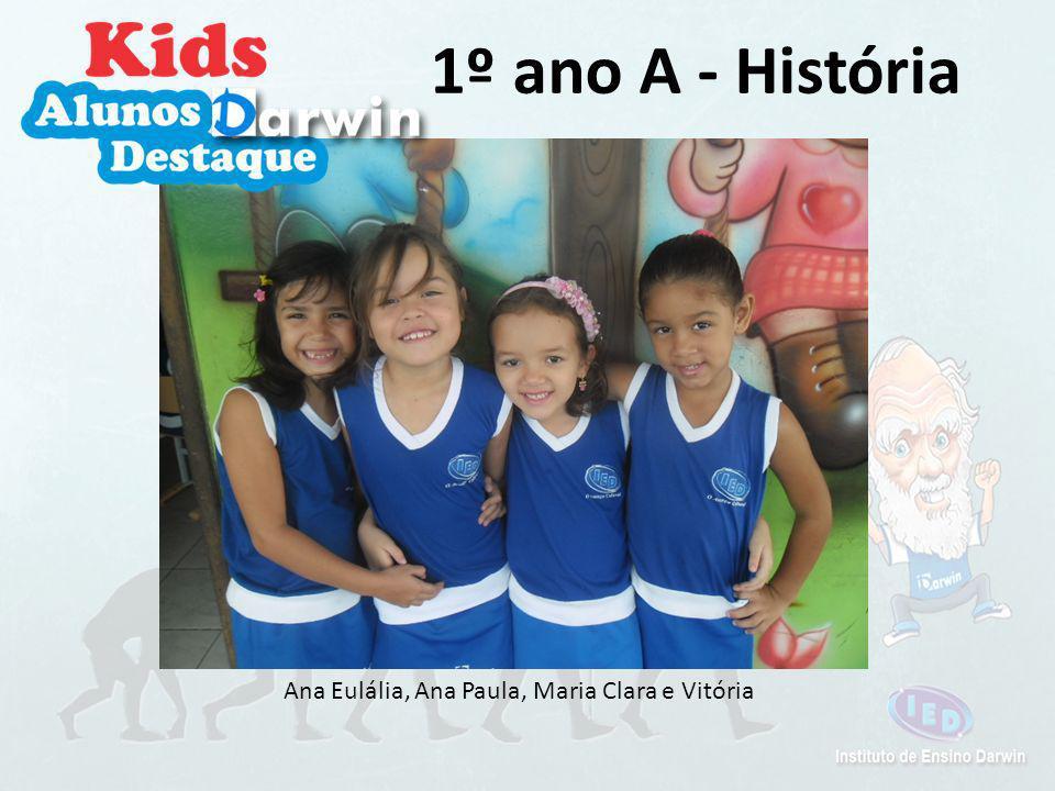 Ana Paula, Anne Karoline, Maria Clara e Vitória 1º ano A - Matemática