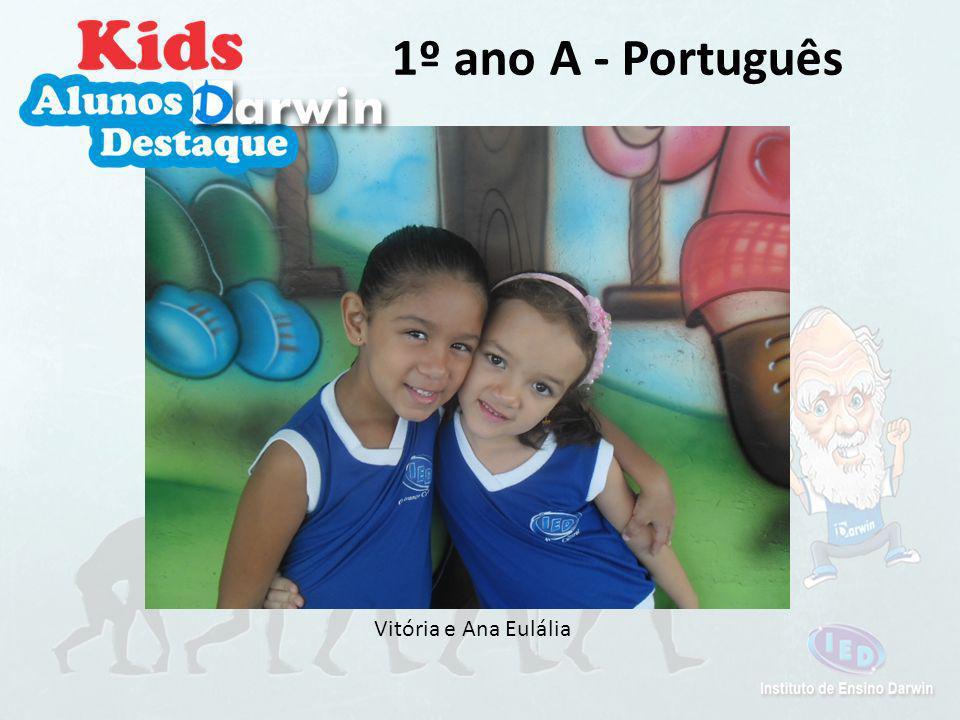 Vitor Dias e Ana Paula 1º ano A - Religião