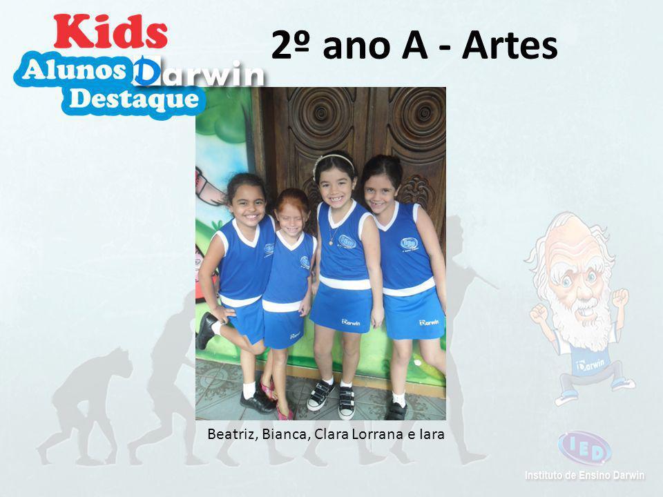 Arthur, Bianca, João, Nicolas e Iara 2º ano A - Ciências