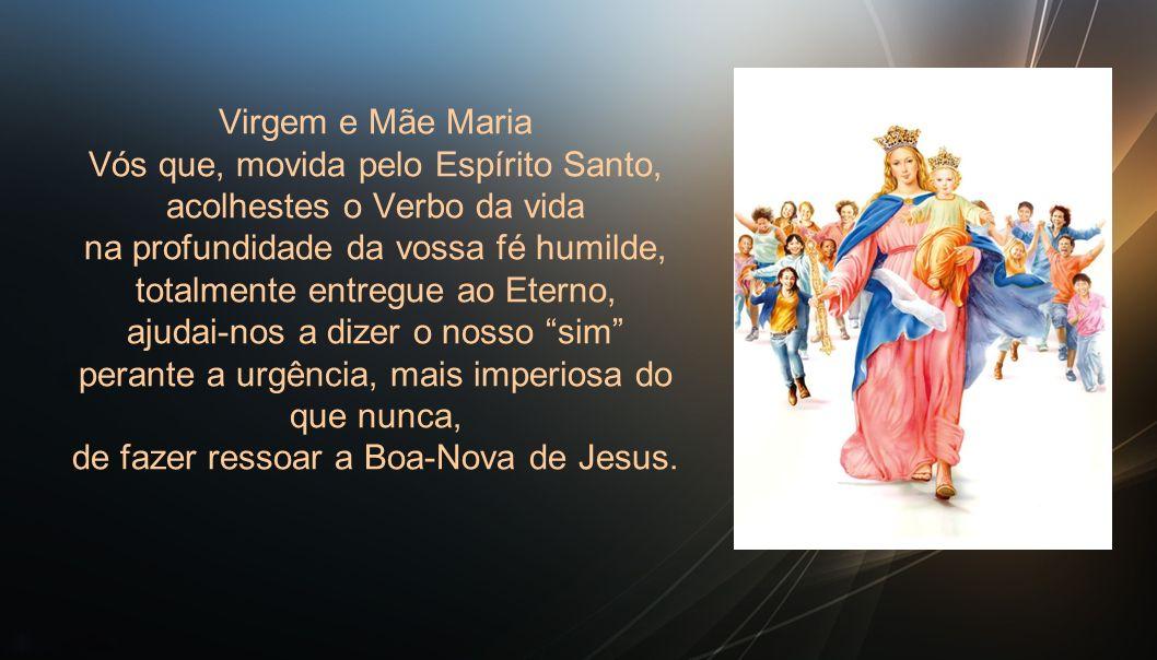 Texto: Mt 13, 44-46 O Espírito Santo trabalha como quer, quando quer e onde quer