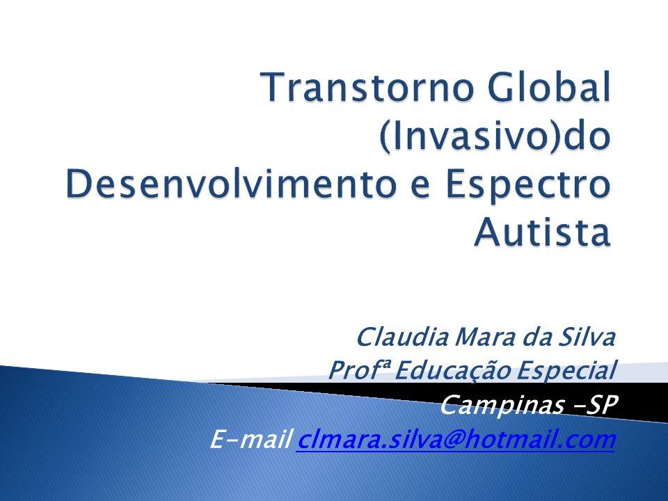Claudia Mara da Silva Profª Educação Especial Campinas -SP E-mail clmara.silva@hotmail.comclmara.silva@hotmail.com